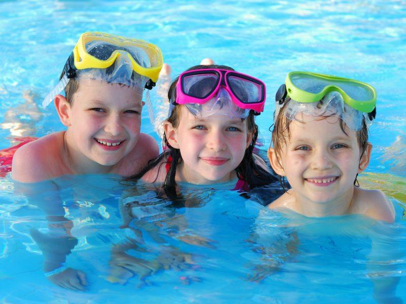 Kinderen zwembad