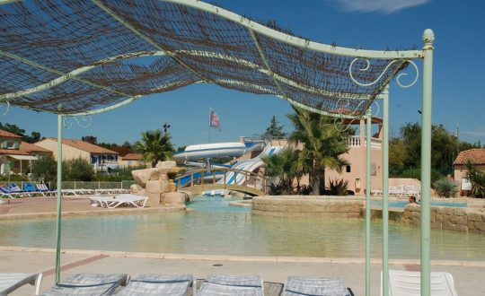 Les Clos des Oliviers - Camping-met-Zwemparadijs