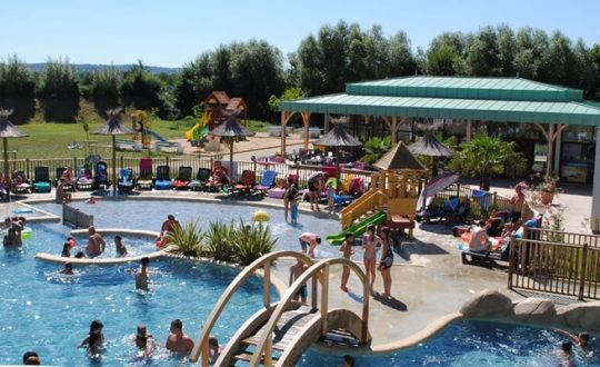 La Roche-Posay Vacances - Camping-met-Zwemparadijs