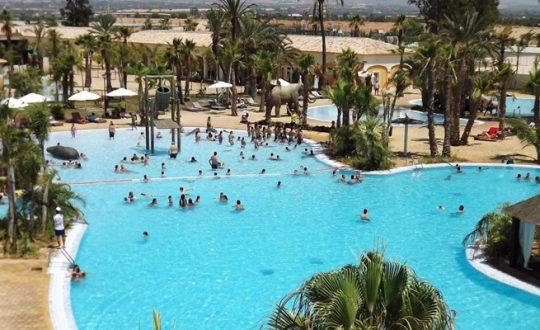 Zwemparadijs aan de Spaanse kust