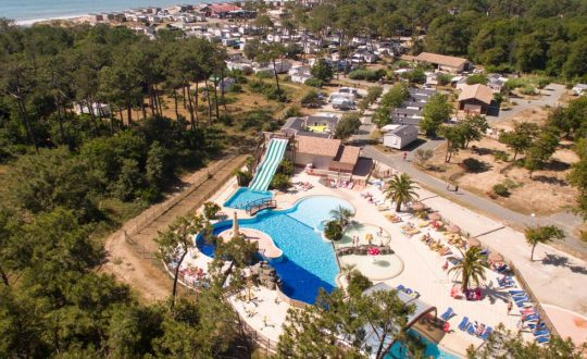 Soulac Plage - Camping-met-Zwemparadijs