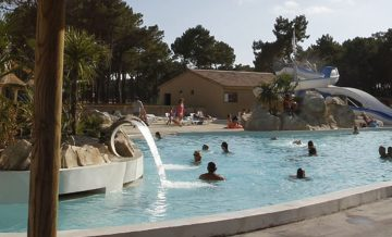 Camping Atlantic Club Montalivet - Camping-met-Zwemparadijs